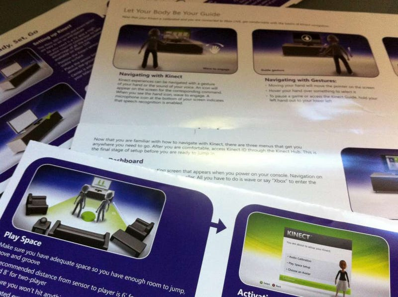 Xbox 360 Kinect Stress Test, Technology Vs. Dogs, Darkness, Disguises
