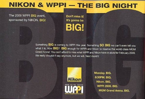 Nikon Has Something Non-Diminuitive to Declare At WPPI
