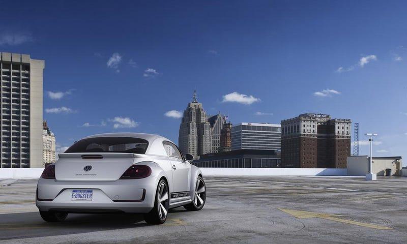 Volkswagen E-Bugster Concept: Detroit Auto Show Photos, Info
