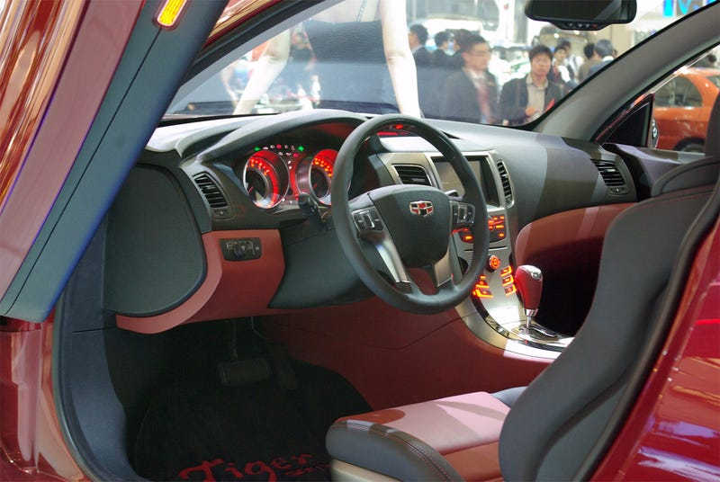 Geely GT Tiger: Chinese Super Car Gets Interior, New Name
