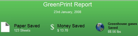 Save Ink, Paper, and Money with GreenPrint