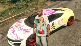 <i>Grand Theft Auto V</i> Characters Modded Into Anime Nerds