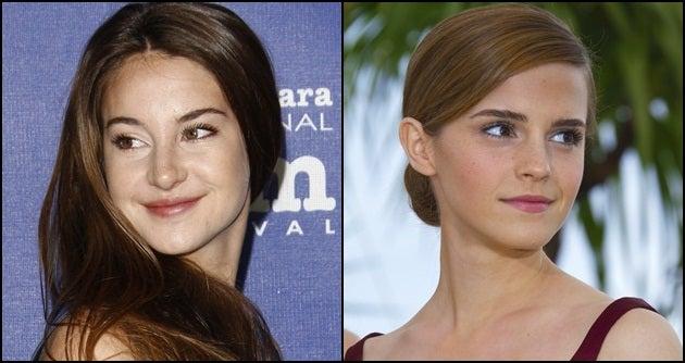 Battle of the J.V. Adaptation It Girls: Shailene Woodley & Emma Watson