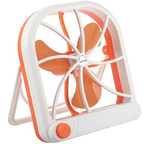 USB Big Fan Evaporates Sweat With Style