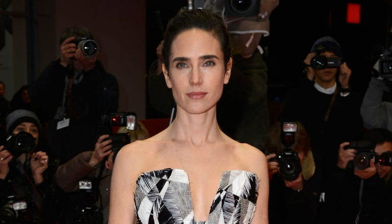 Jennifer Connelly Gets Graphic in Berlin