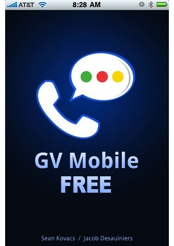 GV Mobile Google Voice App Available For Free On The iPhone via Cydia