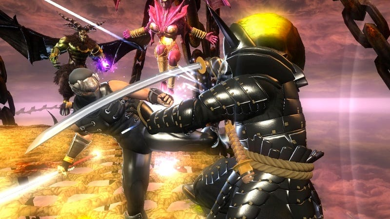 Ninja Gaiden Sigma Plus Gets Motion and Touch Controls for Its PlayStation Vita Debut