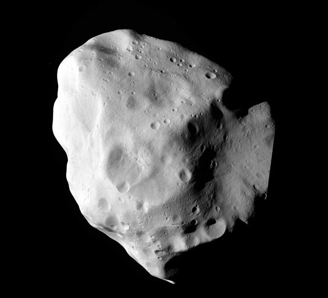 An 80 Mile Long, 4.5 Billion Year Old Asteroid Gets Its Close Up