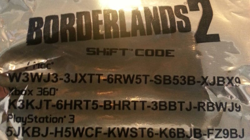 Here, Have Some Rare Borderlands 2 Loot