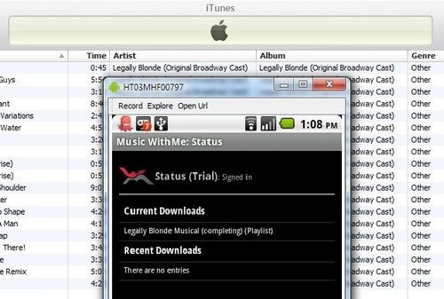 Music WithMe Remotely Syncs iTunes Playlists to Android Devices
