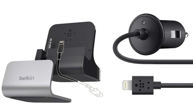 The First Third-Party Lightning Accessories Are a Car Charger and a Stupid Dock