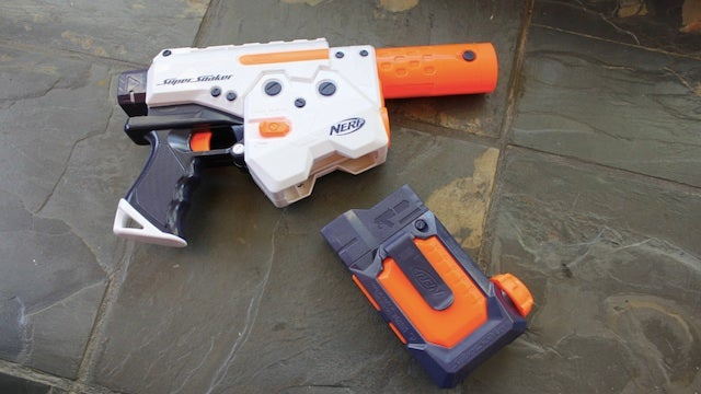 This Super Soaker Uses Magazines to Reload