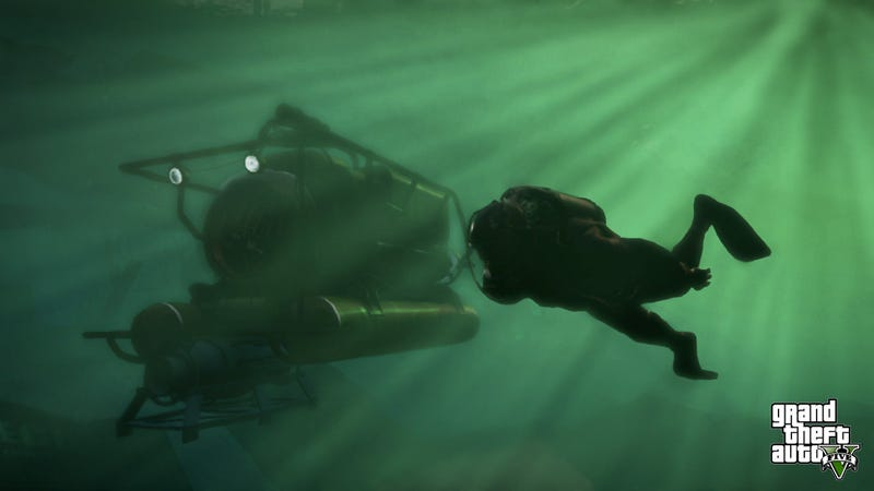 New GTA V Screenshots Show Chases, Car Theft, Deep Sea Adventures
