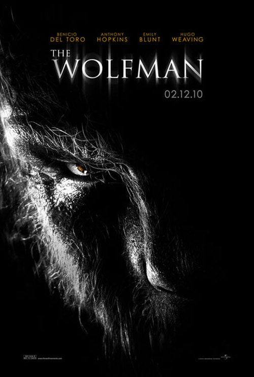 New Official Posters For Wolfman Make Us Drool