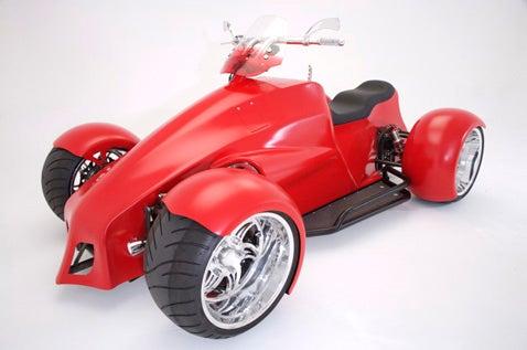 SEMA 2007: Small Block Chevy Quadracycle