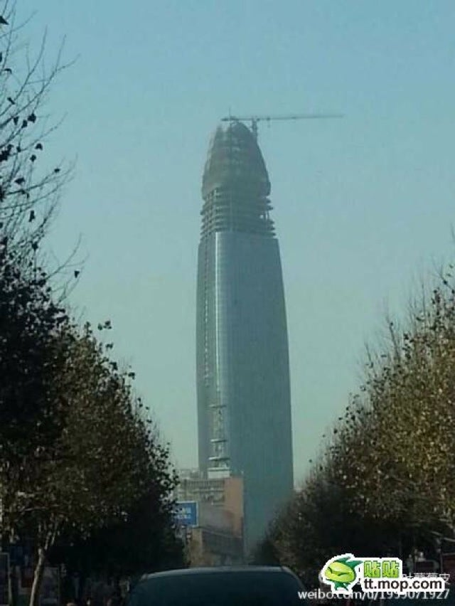 Another Penis-Shaped Building Erected in China