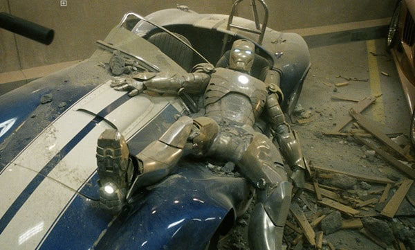 Iron Man Crushes Cobra, We Cry