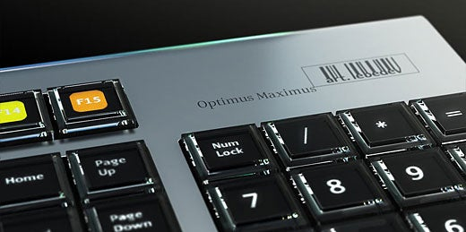 Art.Lebedev Releases Pics of Newly-Named Optimus Maximus Vaporware Keyboard