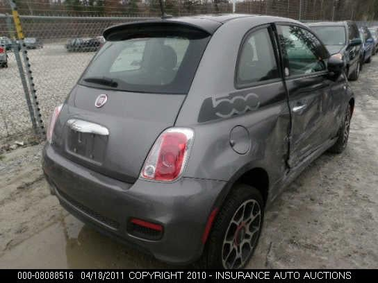 First U.S. Fiat 500 crashed with less than 1K miles