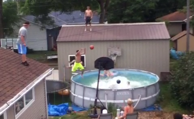Pool Dunks Have Graduated To Multi-Ball