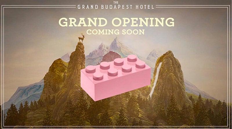 Massive Lego 'Grand Budapest Hotel' is 50,000 whimsical bricks