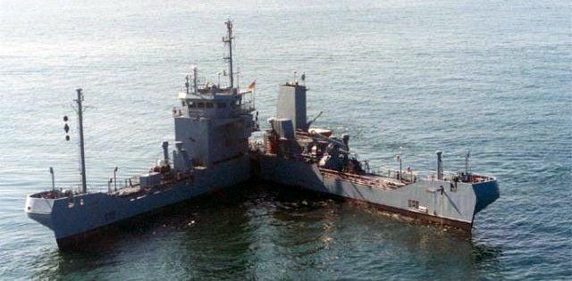 The Pac-Man Ship That Eats Oil Spills