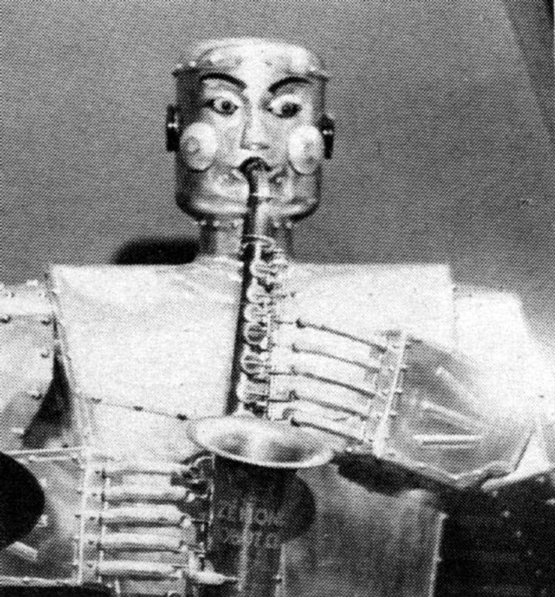 Meet The Retro Robot Band From The Fabulous '50s