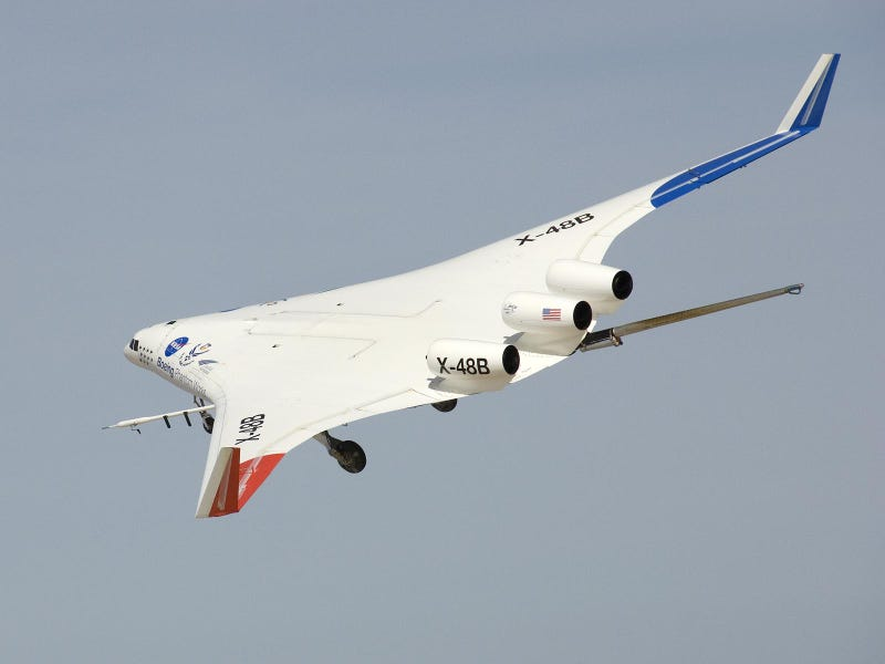 A 500-pound Model Plane Tests the Next Generation of Aircraft Design