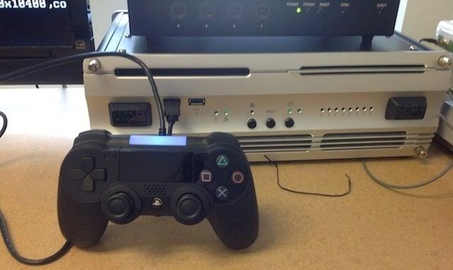 Este es el prototipo del mando de la próxima PlayStation 4