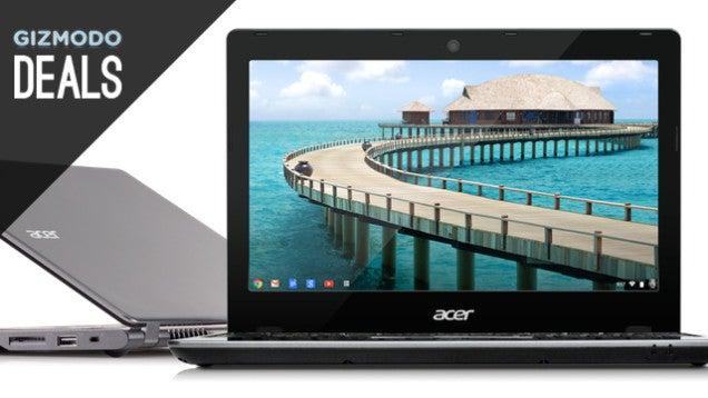 $150 Chromebook, Futurama Box Set, Bluetooth Speaker, Nikons [Deals]