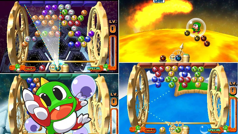 Bust-A-Move Universe Is The 3DS Game With Too Much Empty Space