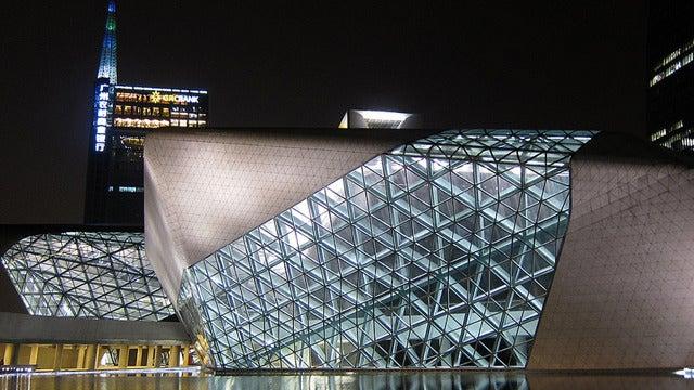 Guangzhou Opera House Gallery