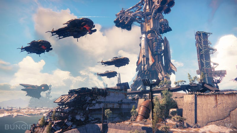 A Brief Encounter With Destiny, Bungie's Gorgeous MMOish Sci-Fi Shooter