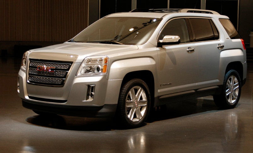 2010 Gmc Terrain Rugged Looks And 30 Mpg