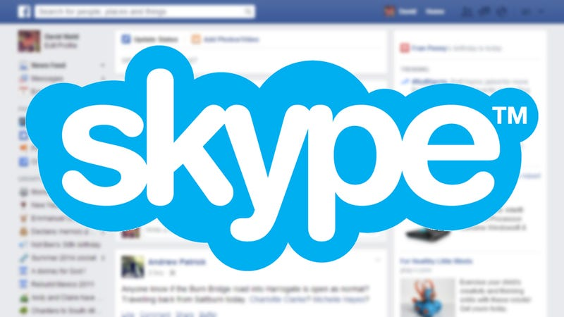Plug Facebook Into Skype For a News Feed Firehose