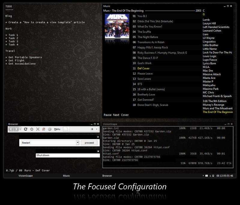 The Context-Configured Desktop