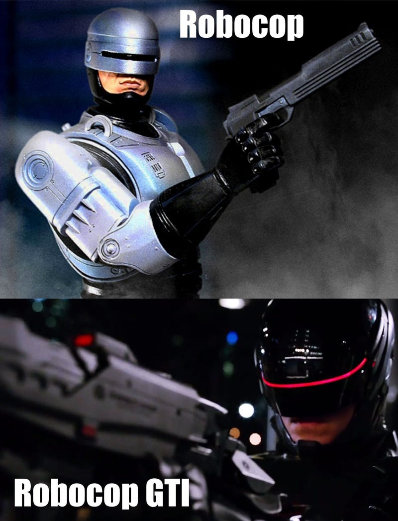 New Robocop Is Sportier, More Performance Oriented