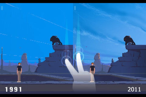 Play an HD Version of Another World on the iPhone, iPad