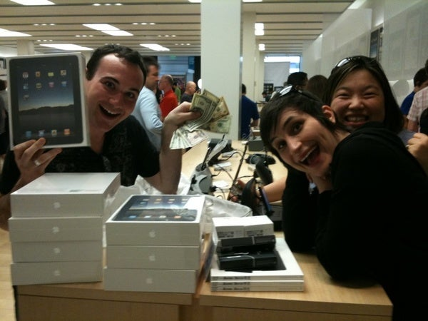 Plenty of Apple Stores Still Have iPads in Stock