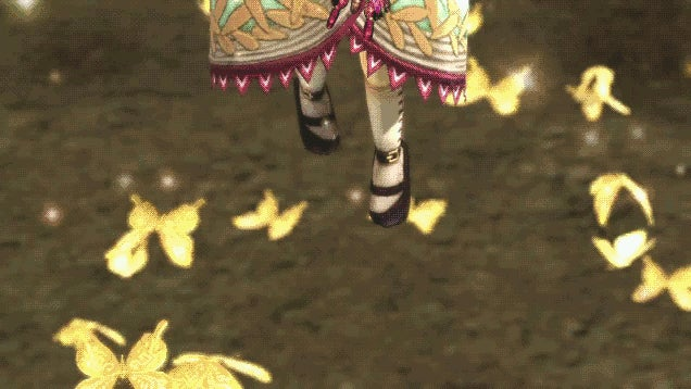 Agitha & Her Vicious Butterfly Horde Take On Zelda: Hyrule Warriors
