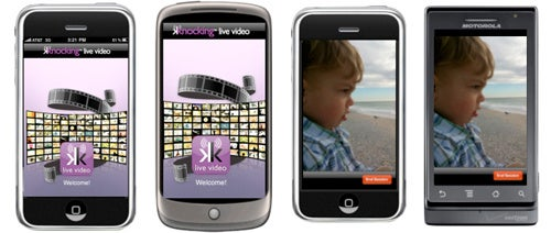 Knocking Live Video App Streams Video Between iPhones and Androids