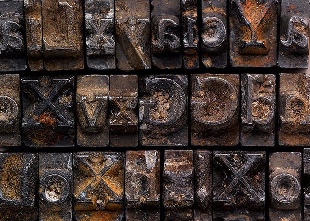 The Gorgeous Typeface That Drove Men Mad and Sparked a 100-Year Mystery