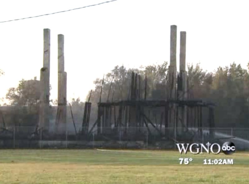 Historic Landmark Burned to the Ground by Frustrated Ghost Hunters