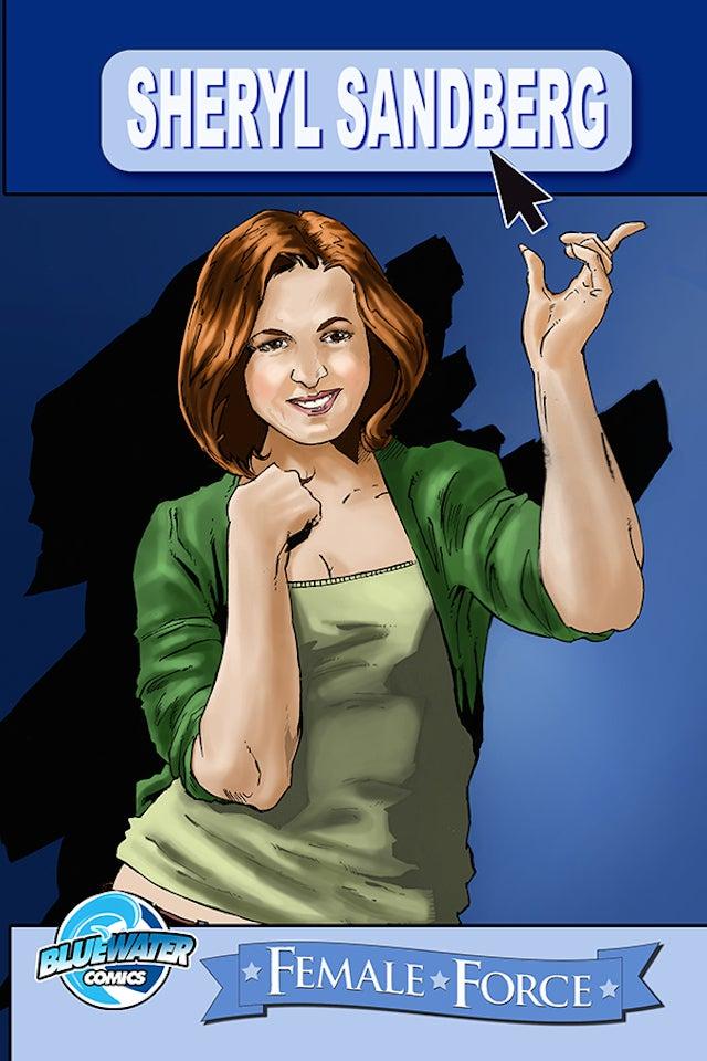 Sheryl Sandberg Is a Comic Book Superhero