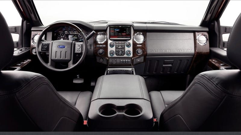 2013 Ford F-Series Super Duty: Touch The Platinum