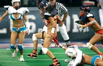 Lingerie Football Off To A Rousing Start