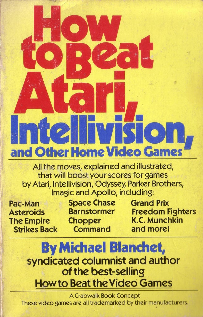 Video Game Books Used to be Amazing
