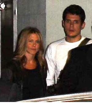 Jennifer Aniston & John Mayer Have A Quickie