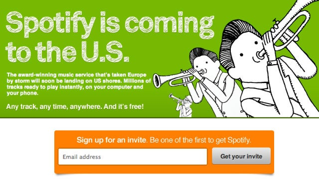 Spotify Officially Coming to the US; Sign Up for an Invite Now