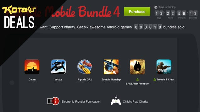 New Humble Bundle, GTAV, Wii U, Sonic's Back Catalog [Deals]